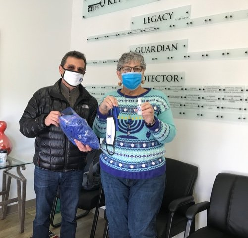 Nason leads B'nai B'rith COVID-19 relief kit effort