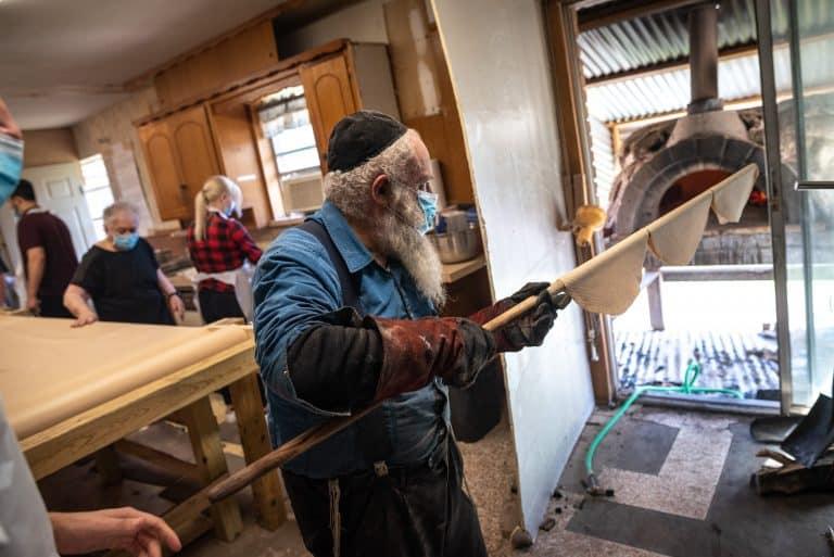 Building a shmura matzo factory took a village