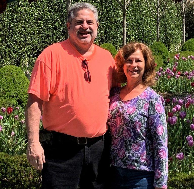 Jim and Judy Kline keep watch after death