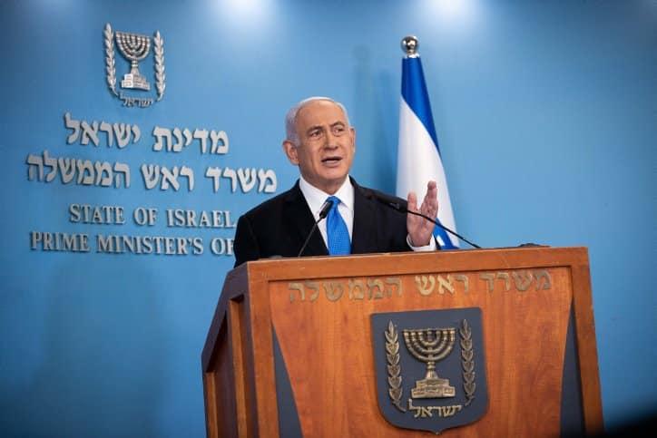 Netanyahu: Gaza media tower housed terrorist intelligence office