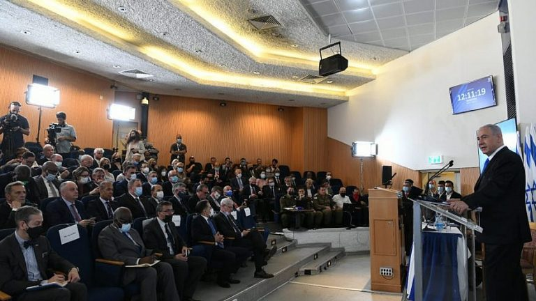Netanyahu to ambassadors: 'We target our enemies with great precision'
