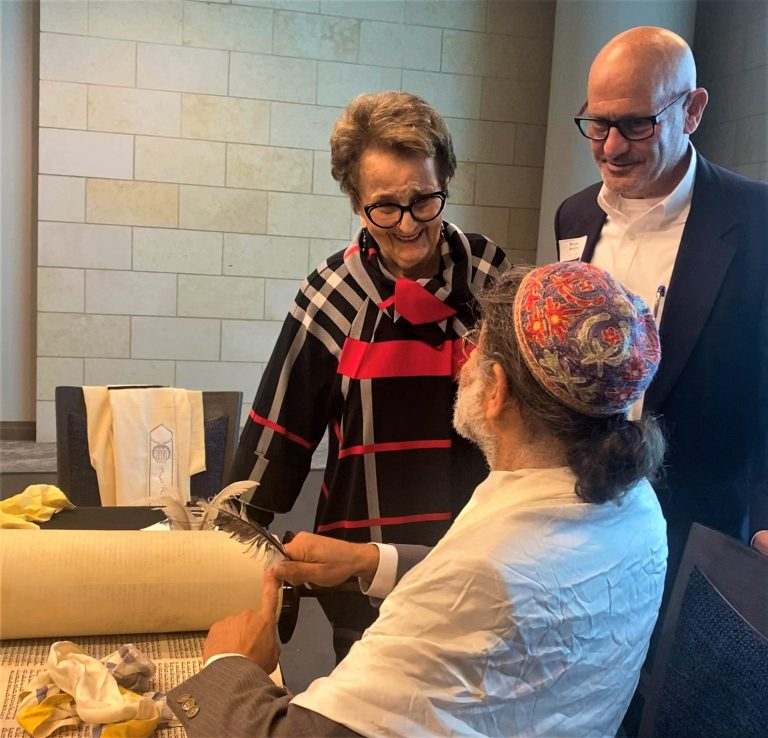 Read more about the article 3 families donate Torahs to Legacy Midtown Park