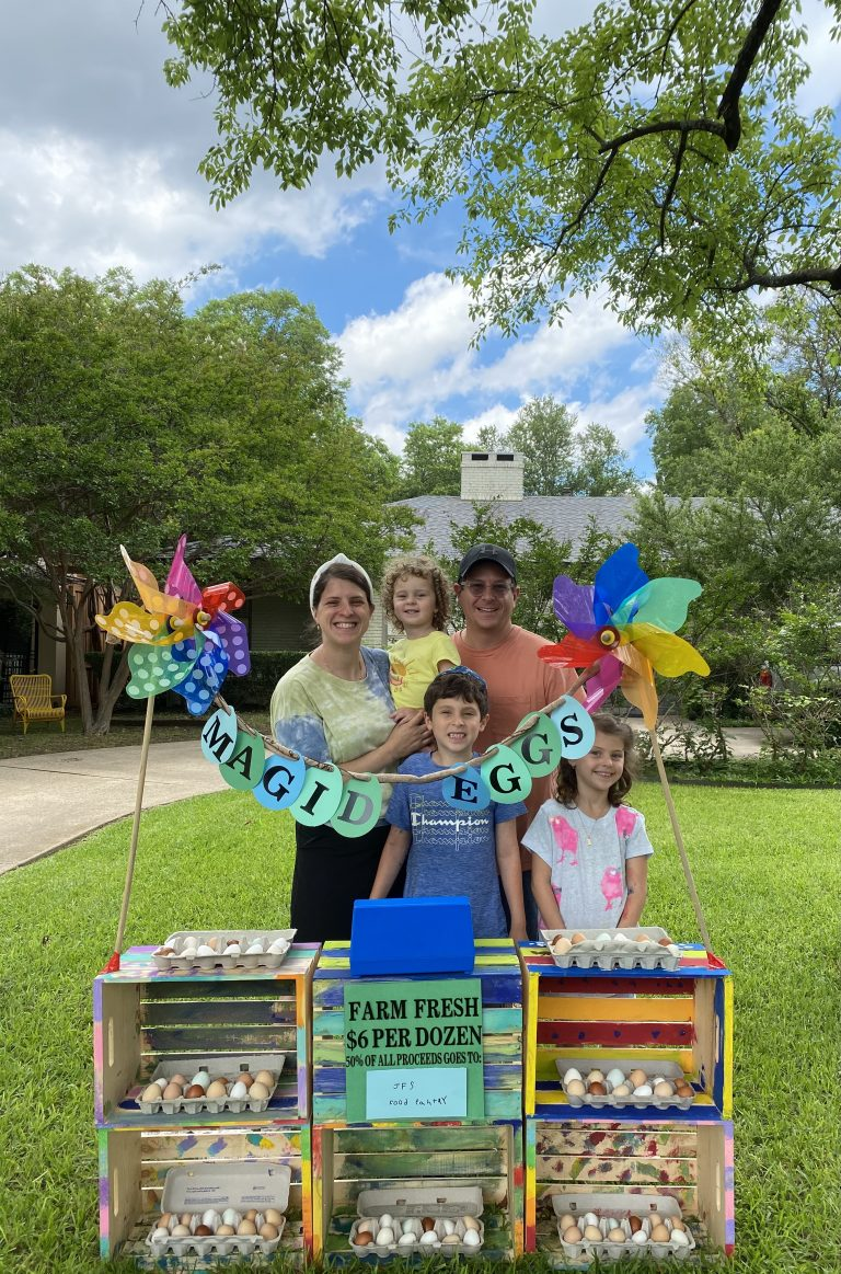 Read more about the article The Magid family's eggcellent adventures