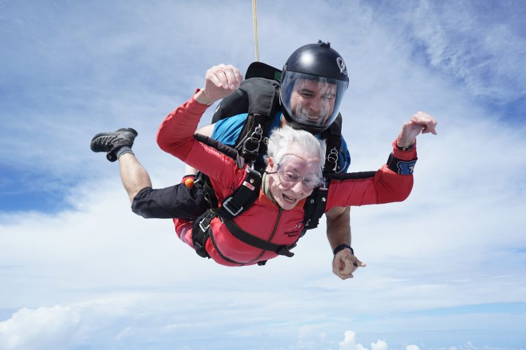 Read more about the article A sky-high celebration for Eunice Reiter, 83