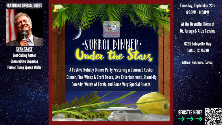 Read more about the article Sukkot Under the Stars – A Festive Holiday Dinner Party!