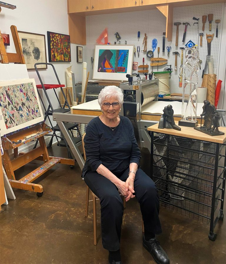 Read more about the article Ruth Litwin's art is a light in the community